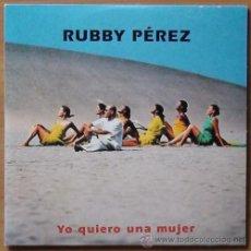 CDs de Música - MAXI-CD: RUBBY PÉREZ: YO QUIERO UNA MUJER (Karen, 1997) - 36069975