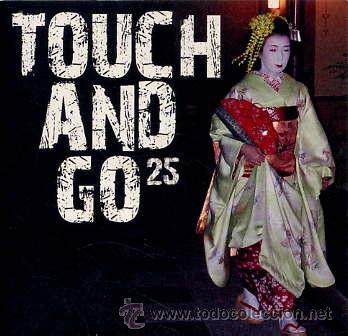 ROCKDELUX SM-095 / TOUCH AND GO 25 (CD SAMPLER DEL SELLO TOUCH AND GO - 17 TEMAS) (Música - CD's Rock)
