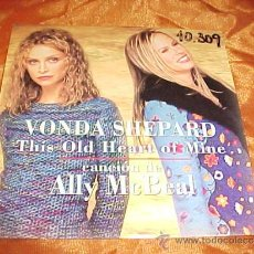 CDs de Música: VONDA SHEPARD. THIS OLD HEART OF MINE. CANCION DE ALLY MCBEAL. CD PROMOCIONAL. Lote 36082690