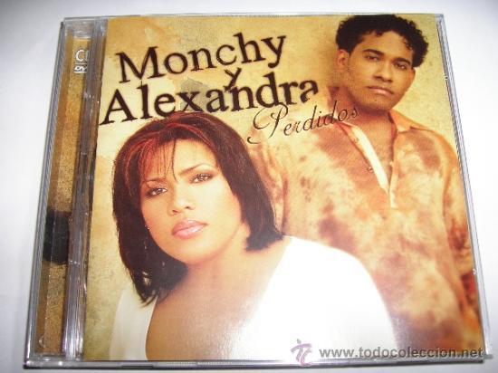 MONCHY Y ALEXANDRA PERDIDOS CD + DVD CON VIDEOCLIPD Y CONCIERTO EXCELENTE ESTADO (Música - CD's Latina)