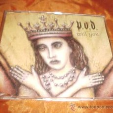 CDs de Música: P.O.D. WILL YOU. CD PROMOCIONAL. EDICION ALEMANA. Lote 36101841
