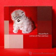 CDs de Música: DAUERFISCH CRIME OF THE CENTURY CD. Lote 36104707