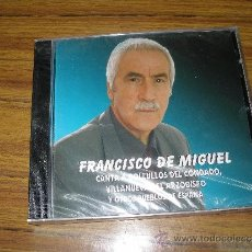 CDs de Música: FRANCISCO DE MIGUEL - CANTA A BOLLULLOS DEL CONDADO, VILLANUEVA DEL ARZOBISPO...PRECINTADO. Lote 51326253