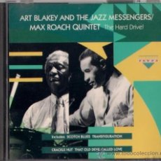 CDs de Música: ART BLAKEY AND THE JAZZ MESSENGERS/MAX ROACH QUINTET - THE HARD DRIVE! - CD - CHARLY RECORDS 1993. Lote 36114092