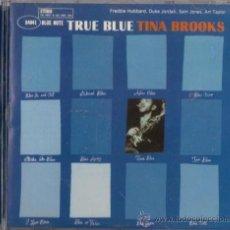 CDs de Música: TINA BROOKS - TRUE BLUE - CD - CAPITOL 1997 THE BLUE NOTE COLLECTION. Lote 36120063