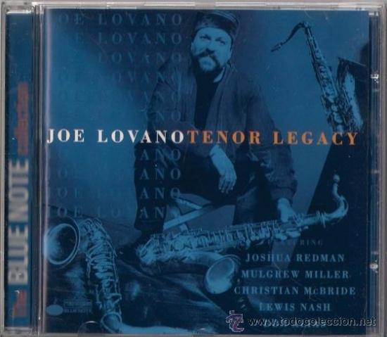 JOE LOVANO - TENOR LEGACY - CD - CAPITOL 1997 THE BLUE NOTE COLLECTION (Música - CD's Jazz, Blues, Soul y Gospel)