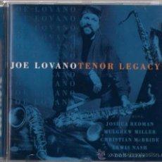 CDs de Música: JOE LOVANO - TENOR LEGACY - CD - CAPITOL 1997 THE BLUE NOTE COLLECTION. Lote 36125891