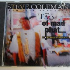 CDs de Música: STEVE COLEMAN AND FIVE ELEMENTS . THE TAO OF MAD PHAT. Lote 36128777