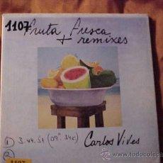 CDs de Música: CARLOS VIVES. FRUTA FRESCA. REMIXES. CD PROMOCIONAL. Lote 36140601
