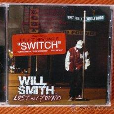 CDs de Música: WILL SMITH - LOST AND FOUND CD ALBUM. Lote 36144452