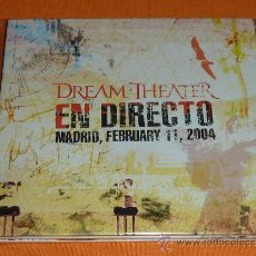 CDs de Música: DREAM THEATER EN DIRECTO MADRID 2004 DOBLE CD. Lote 36167713