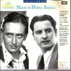 CDs de Música: CD LO MEJOR DE MIGUEL DE MOLINA & ANGELILLO . Lote 36176587