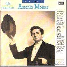 CDs de Música: CD LO MEJOR DE ANTONIO MOLINA . Lote 36176621