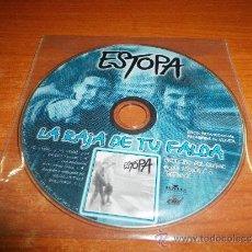 CDs de Música: ESTOPA LA RAJA DE TU FALDA CD SINGLE PROMOCIONAL CONTIENE 1 TEMA MUY RARO SOLO PARA RADIOS. Lote 94340152