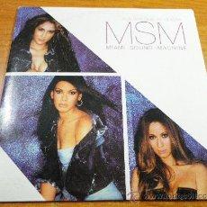 CDs de Música: MIAMI SOUND MACHINE MSM ALGUIEN QUE TE QUIERA CD SINGLE PROMOCIONAL CARTON 2002 1 TEMA GIAN MARCO. Lote 180250097