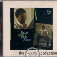 CDs de Música: ELLA FITZGERALD & LOUIS ARMSTRONG - ELLA AND LOUIS AGAIN - CD JAZZ THE VERVE COLLECTION. Lote 36186458