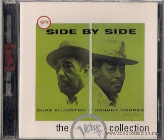 DUKE ELLINGTON AND JOHNNY HODGES - SIDE BY SIDE - CD JAZZ THE VERVE COLLECTION (Música - CD's Jazz, Blues, Soul y Gospel)