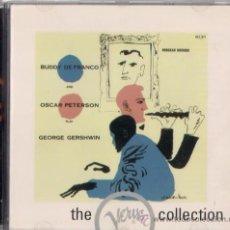 CDs de Música: BUDDY DE FRANCO & OSCAR PETERSON PLAY GEORGE GERSHWIN - CD JAZZ THE VERVE COLLECTION. Lote 36186502