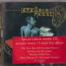 CDs de Música: CROWDED HOUSE - RECURRING DREAM. CD THE VERY BEST OF CROWDED HOUSE - 2CD LIMITED EDITION 1996. Lote 36190299