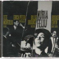 CDs de Música: CD TETE MONTOLIU & NURIA FELIU ( + ERICH PETER , BILLIE BROOKS & BOOKER ERVIN . Lote 36191845