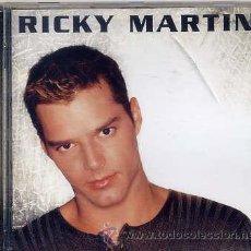 CDs de Música: RICKY MARTIN / RICKY MARTIN (CD SONY 1999). Lote 36224892