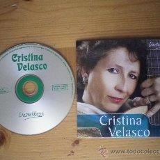 CDs de Música: CD MÚSICA LATINO AMERICANA CRISTINA VELASCO MUSICA ERGENTINA. Lote 36261305