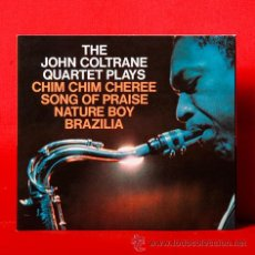 CDs de Música: JOHN COLTRANE THE JOHN COLTRANE PLAYS CD. Lote 36261464