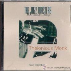 CDs de Música: THELONIOUS MONK - CD - THE JAZZ MASTERS 100 AÑOS DE SWING 1996 EDICIÓN IRLANDESA - MONK'S MUSIC. Lote 36265421