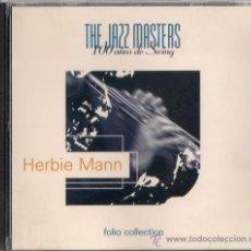 CDs de Música: HERBIE MANN - CD - THE JAZZ MASTERS 100 AÑOS DE SWING 1996 EDICIÓN IRLANDESA - AFRO JAZZIAC. Lote 36265515