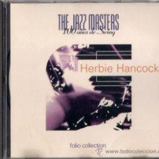 CDs de Música: HERBIE HANCOCK - CD - THE JAZZ MASTERS 100 AÑOS DE SWING 1996 EDICIÓN IRLANDESA - BARAKA. Lote 36265541
