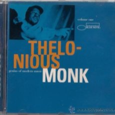 CDs de Música: THELONIUS MONK - GENIUS OF MODERN MUSIC - CD CAPITOL 1997 THE BLUE NOTE COLLECTION. Lote 36273365