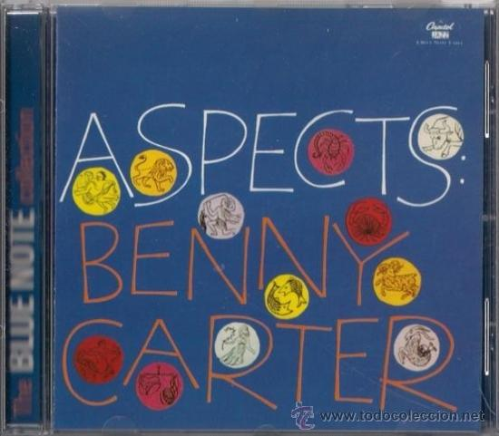 BENNY CARTER - ASPECTS - CD CAPITOL 1997 THE BLUE NOTE COLLECTION (Música - CD's Jazz, Blues, Soul y Gospel)