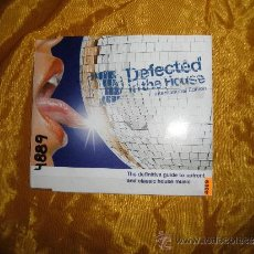 CDs de Música: DEFECTED IN THE HOUSE. DJ RHYTHM, SHAWN CHRISTOPHER, EDDIE AMADOR. CD PROMOCIONAL. Lote 36278890