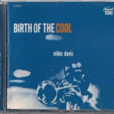 CDs de Música: MILES DAVIS - BIRTH OF THE COOL - CD CAPITOL 1997 THE BLUE NOTE COLLECTION. Lote 36281377