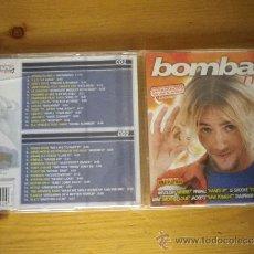 CDs de Música: CD BOMBAZO MIX 4 DOBLE CD. Lote 36293462