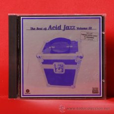 CDs de Música: THE BEST OF ACID JAZZ VOLUME III CD. Lote 36294731