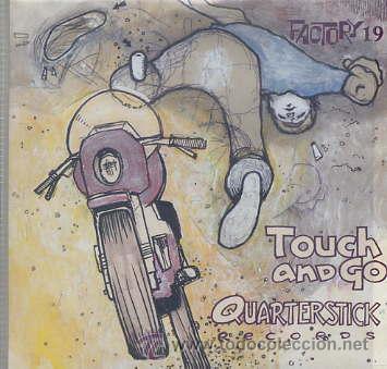 TOUCH AND GO / MASTER QUARTERSTICK RECORDS (CD CARTON 19 TEMAS - 1998) (Música - CD's Rock)