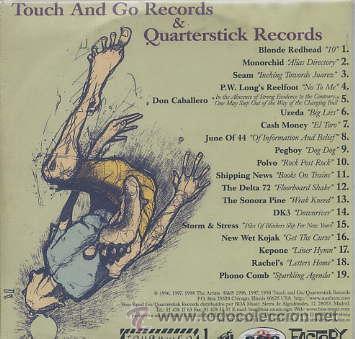 CDs de Música: TOUCH AND GO / MASTER QUARTERSTICK RECORDS (CD CARTON 19 TEMAS - 1998) - Foto 2 - 43928613