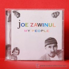 CDs de Música: JOE ZAWINUL MY PEOPLE CD. Lote 36329305