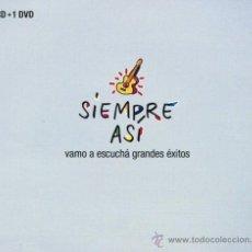 CDs de Música: SIEMPRE ASI - VAMO A ESCUCHA GRANDES EXITOS (2 CD + 1 DVD) (PRECINTADO). Lote 177739150