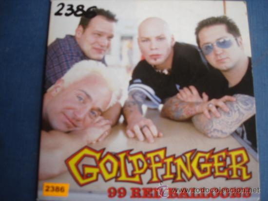 GOLDFINGER 99 RED BALLOONS PROMO CD MAXI1 1 Msica