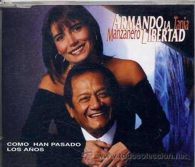 ARMANDO MANZANERO Y TANIA LIBERTAD / COMO HAN PASADO LOS AÑOS (CD SINGLE CAJA 1998) (Música - CD's Latina)