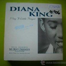 CDs de Música: DIANA KING / I SAY A LITTLE PRAYER - VERSIÓN (CD SINGLE 1997) PEPETO. Lote 36401264
