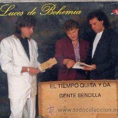 CDs de Música: LUCES DE BOHEMIA / EL TEIMPO QUITA Y DA / GENTE SENCILLA (CD SINGLE CAJA 1993). Lote 36408635
