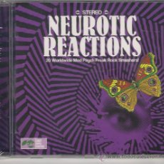 CDs de Música: NEUROTIC REACTIONS - CD 20 WORLDWIDE MOD PSYCH FREAK ROCK SMASHERS!. Lote 36409838