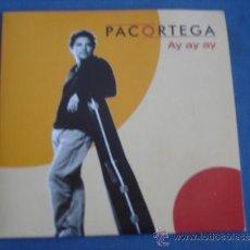 CDs de Música: PACO ORTEGA AY AY AY PROMO CD-SINGLE. Lote 36423715