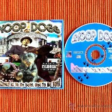CDs de Música: SNOOP DOGG - DA GAME IS TO BE SOLD, NOT TO BE TOLD. Lote 36434279