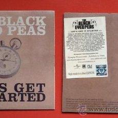 CDs de Música: THE BLACK EYED PEAS LETS GET..... Lote 36442246