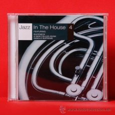 CDs de Música: JAZZ IN THE HOUSE 4 CD. Lote 36449080