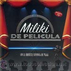 CDs de Música: CD PRECINTADO NUEVO MILIKI DE PELICULA (CON LA ORQUESTA SINFONICA DE PRAGA Y MUCHAS COLABORACIONES) . Lote 36457257